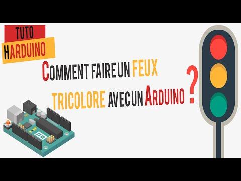 HARDUINO|Tuto Arduino 0 | Comment Faire Un Feux Tricolore ?