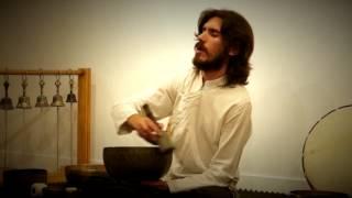 CUENCOS TIBETANOS, MANTRAS Y CANTO DE ARMONICOS, Gabriel Garcia Ferrer - Album 'Homo en transición'