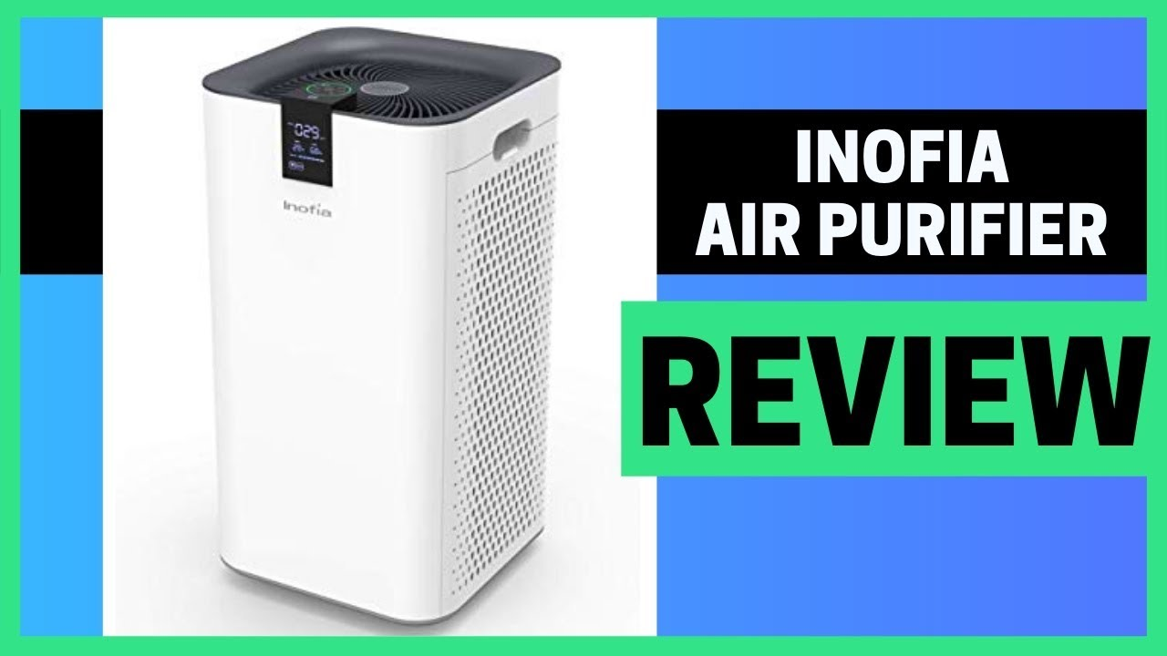 Inofia Air Purifier With True HEPA Air Filter Review ...