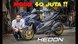 Yamaha AEROX 155 modifikasi HEDON | MAHAL GILA !!