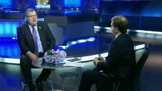 РБК ТВ, Программа «Диалог»: Уроки кризиса