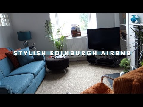 Edinburgh Airbnb Tour   Vlogust Day 18