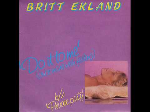 Britt Ekland - Private Party - 1979