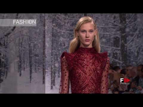 ZIAD NAKAD Fashion Show Fall Winter 2017 2018 Haute Couture Paris - Fashion Channel