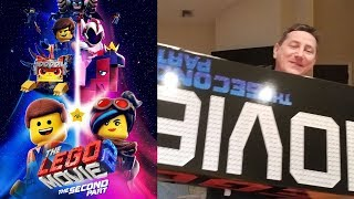 Unboxing Massive Lego Movie 2 Swag Box