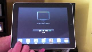 Apple AirPlay Demo for the iPad, iPhone and iPod Touch