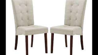 Baxton Studio Anne Beige Fabric Modern Dining Chair