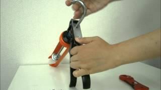 コーキングガンの使用方法とシーリング材の開封方法 thumbnail