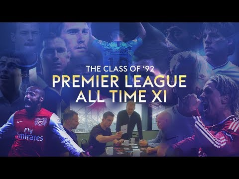Class of '92 Premier League all time XI | Who makes the cut?!