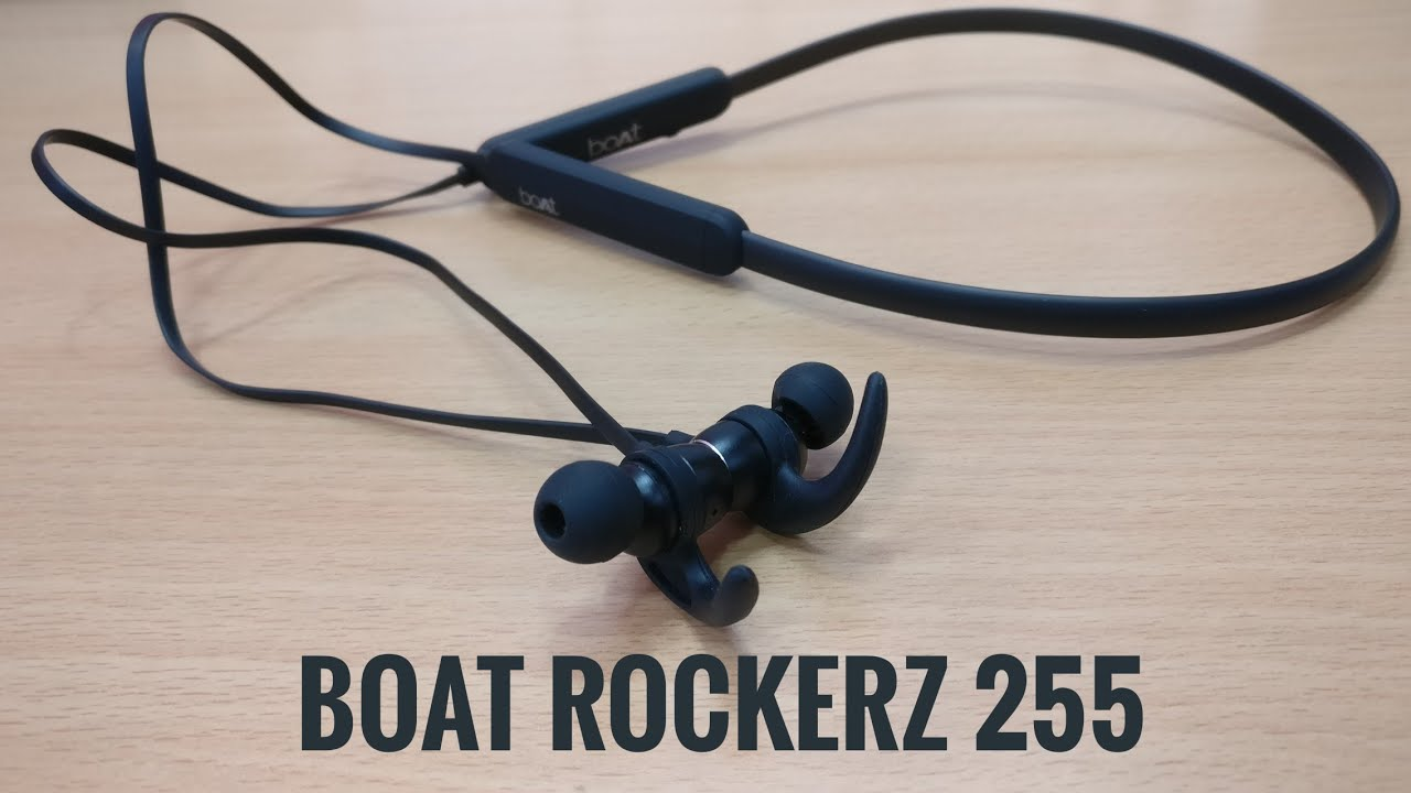 Boat Rockerz 255 bluetooth headset with mic