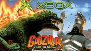 [Xbox] All Monster Intros (Godzilla: Destroy All Monsters Melee)
