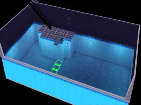 Tuto sims 3 comment creer une grande piscine qui ne prend for Chaise qui ne prend pas de place