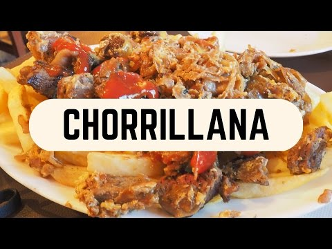 Chorrillana: Typical Chilean Snack in Santiago, Chile