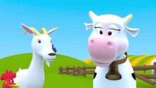 Сборник развивающих песен для детей. Песни про животных