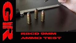 RBCD 9mm Ballistic Gel Test