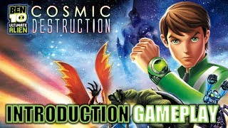 Ben 10 Cosmic Destuction Xbox 360 Introductory Gameplay