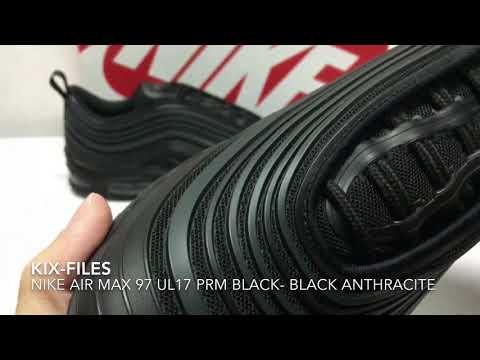 開箱:Unwrapping Nike Air Max 97 UL17 PRM Black-Black Anthracite