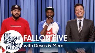 Tonight Show Fallon Five: Desus & Mero Rename Winter Olympic Sports