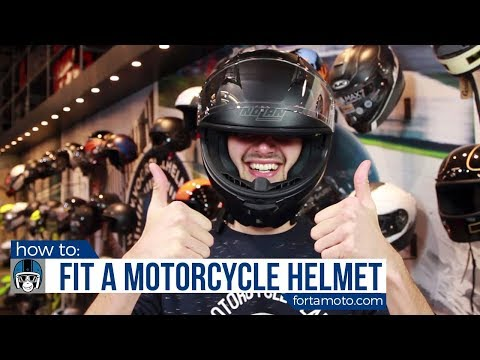 Motorcycle Helmet Size Guide | FortaMoto.com