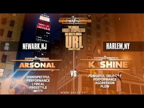 SMACK/ URL PRESENTS ARSONAL VS K-SHINE