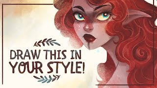 ★ DRAW THIS IN YOUR STYLE + SORTEO!! | MILI KOEY