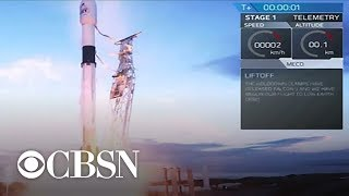 SpaceX Falcon 9 rocket launches satellites