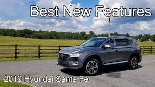 Best New Features Of The 2019 Hyundai Santa Fe