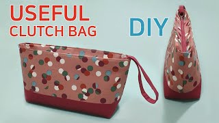 DIY Useful clutch bag/Sharing …