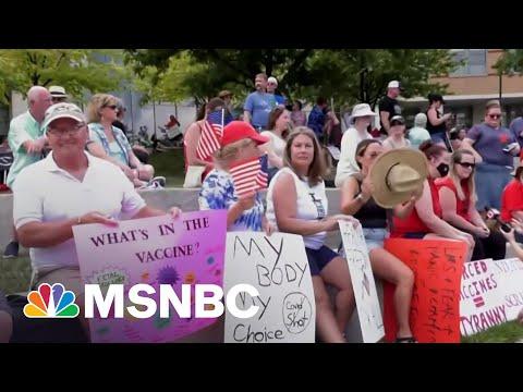 Judge Dismisses Lawsuit Over Hospital Vaccine Mandate   MSNBC