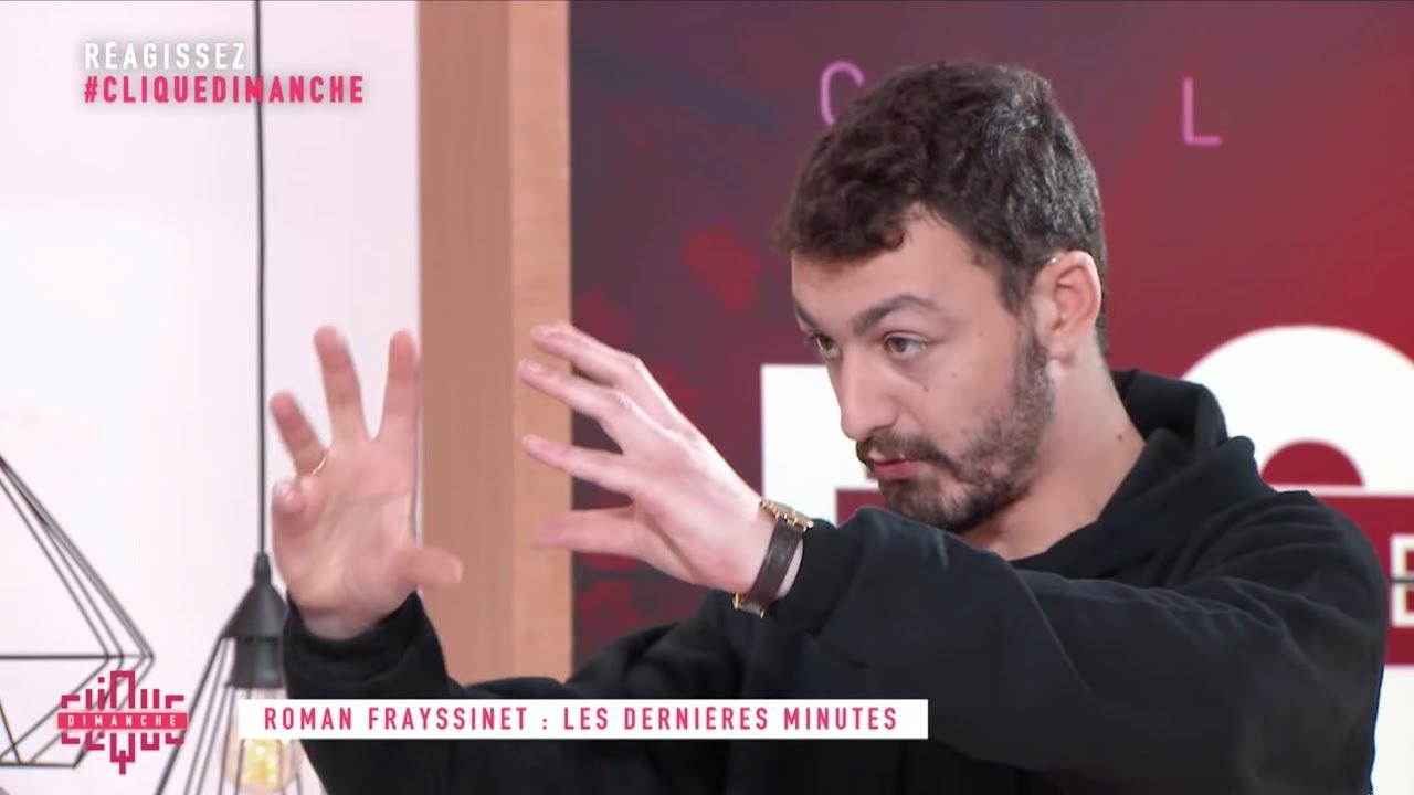 Roman Frayssinet monte une entreprise - Clique Dimanche - CANAL+