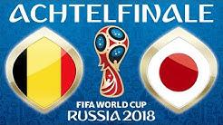 Fussball WM 2018 · ACHTELFINALE · Belgien - Japan · 02.07.2018 · Lets Play Fifa 18 WM PS4 #54