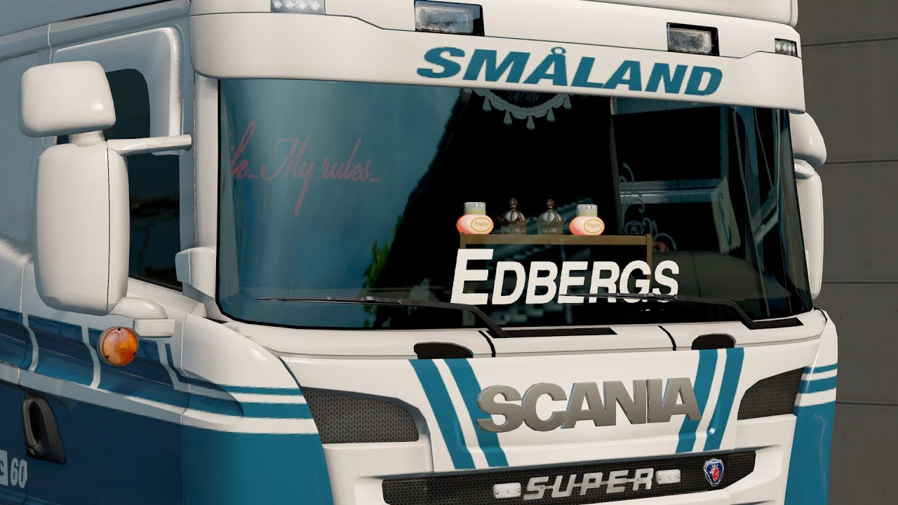 Ets2 2 how to make window sticker swe
