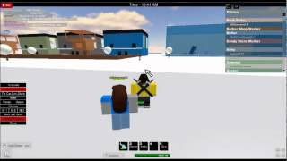 trying to kill someone on roblox (rp)