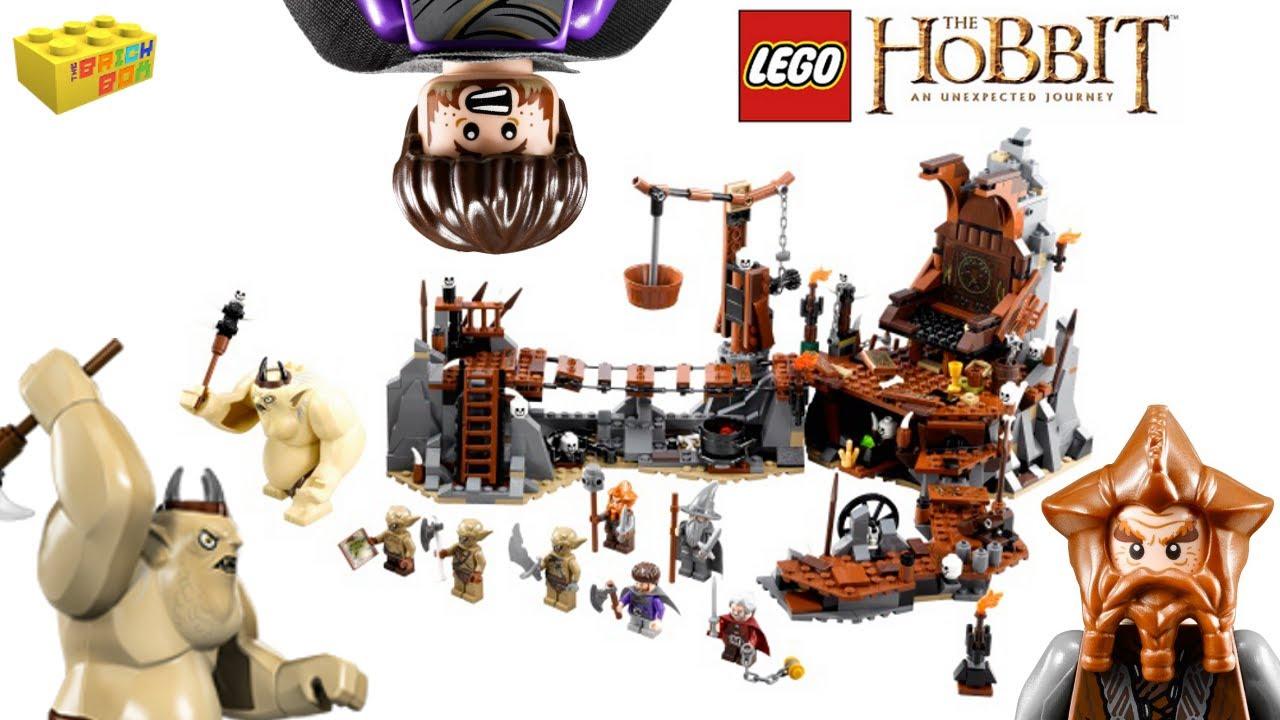 LEGO The Hobbit 79010: The Goblin King Battle: Amazon.co ...