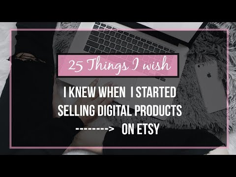 How To Start An Etsy Store The Right Way and Avoid These 25 Things