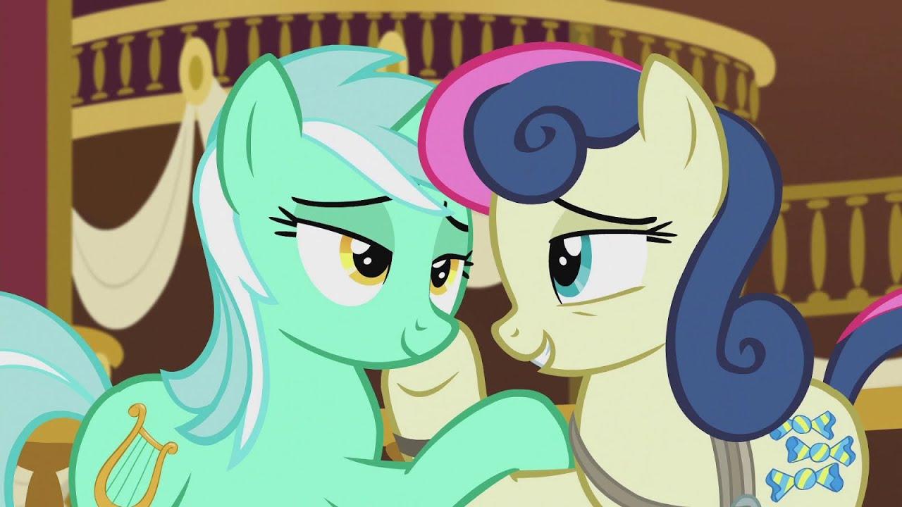 Bon Bon Tells Lyra Her Secret Mlp Friendship Is Magic