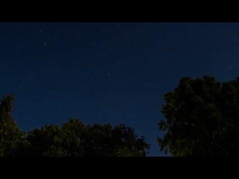 Night sky timelapse #2