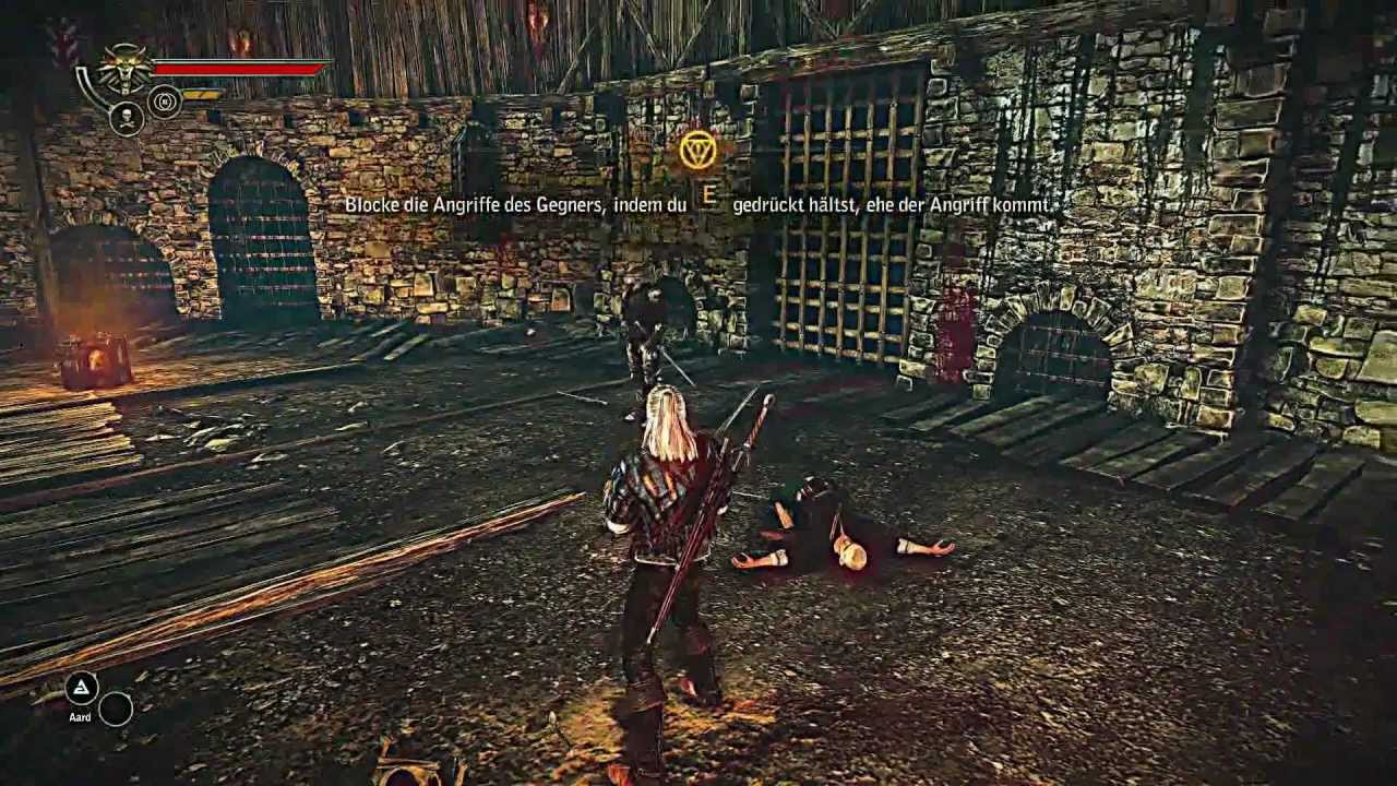 The Witcher 2 Gameplay Tutorial Hd Youtube