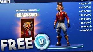Free V-Bucks for Fortnite-CODE FOR FREE VBUCKS (2019)