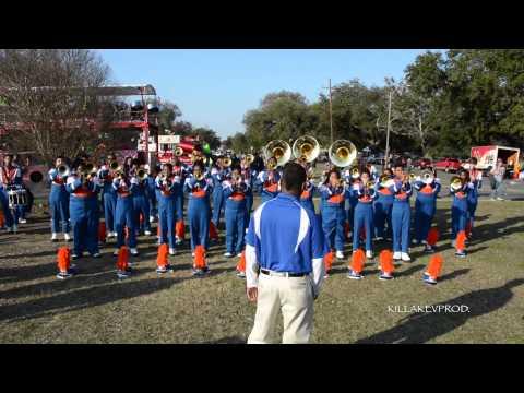 Hunters lane high school marching band uptown funk 2015