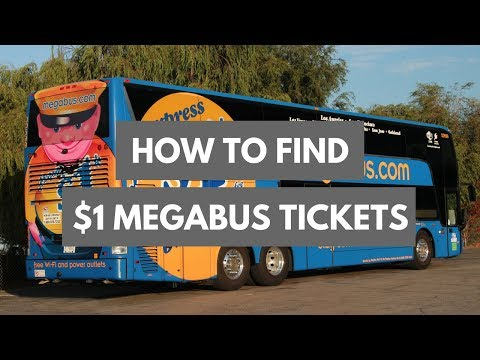How To Find $1 MEGABUS Tickets