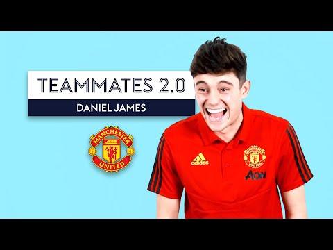 Daniel James Sings His Man United Initiation Song Live! | Teammates 2.0 | Daniel James