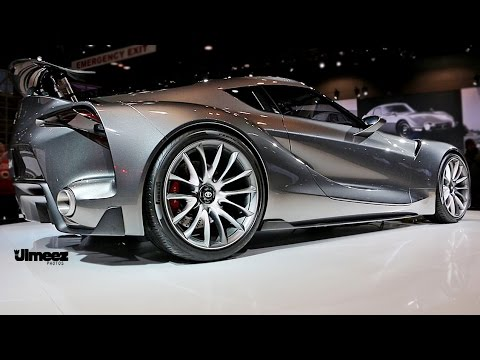 Toyota Supra 2016 >> FT1! 2016 TOYOTA FT1 AT 2015 CHICAGO AUTO SHOW - YouTube