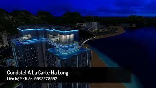 Alacarte Hạ Long - Phối cảnh 3D Tòa Condotel căn hộ khách sạn mặt biển Bán Đảo 2 - Bim group
