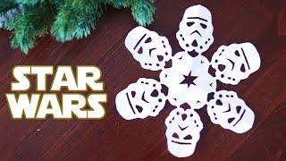 Как сделать снежинку Star Wars