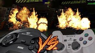 Sega Saturn Vs PlayStation - Alien Trilogy