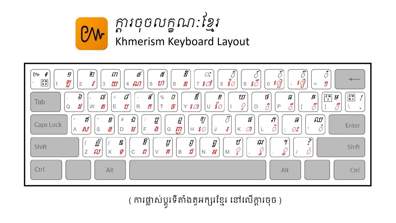 Khmerism Lyheng Keyboard - Society for Better Books in Cambodia