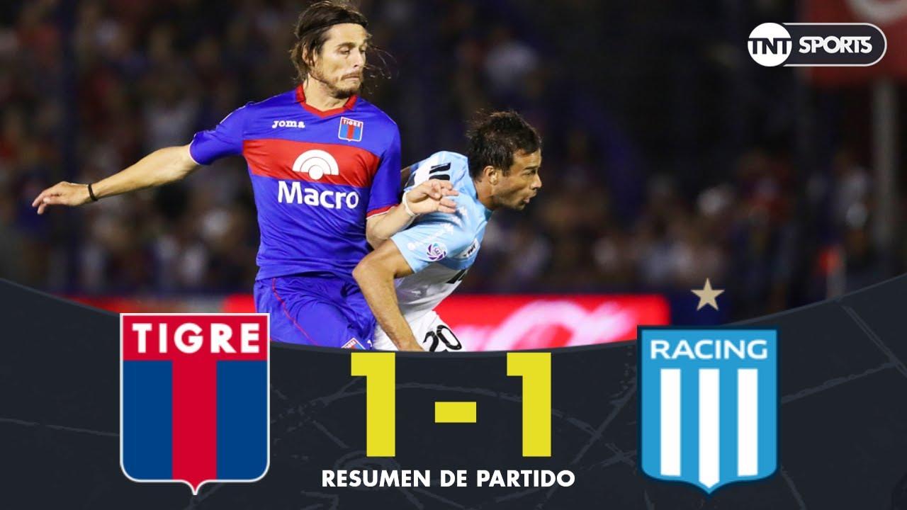 Resumen de Tigre vs Racing (1-1) | Fecha 24 - Superliga Argentina 2018/2019