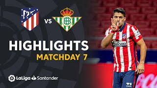 Highlights Atletico Madrid vs Real Betis (2-0)