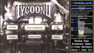 Railroad Tycoon 2 (Dreamcast) - First few levels
